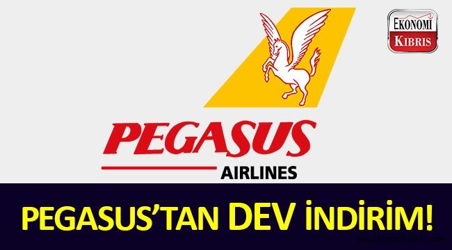 Pegasus'tan dev indirim fırsatı!..