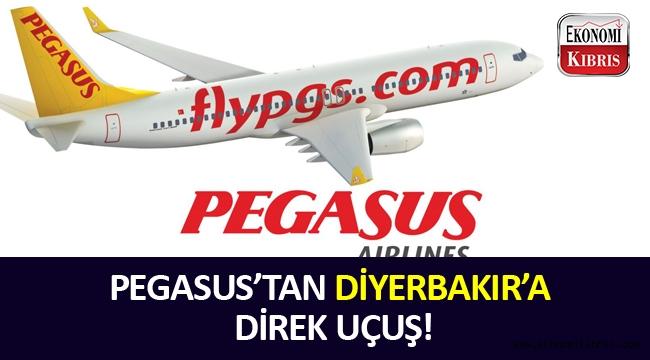 Pegasus'tan Diyerbakır'a direk uçuşlar başladı.