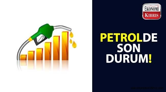 Petrol fiyatları yükseliyor.