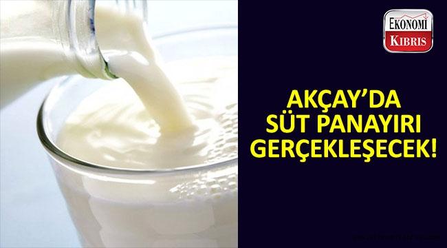 Süt ürünleri panayırının üçüncüsü gerçekleşecek.