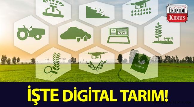 Tarımda yeni dönem: Digital Tarım...