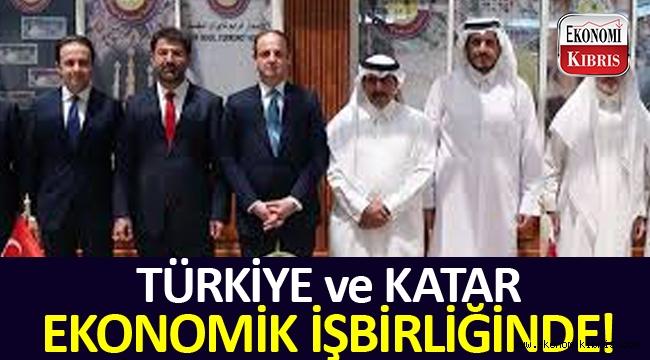 Türkiye ve Katar ekonomik işbirliği gerçekleştiriyor.