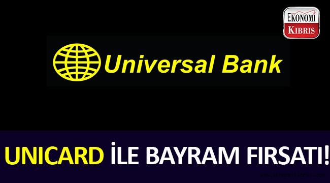 Universal Bank'tan bayram kampanyası!