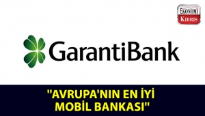 ''Avrupa'nın En İyi Mobil Bankası'': Garanti Bankası!..