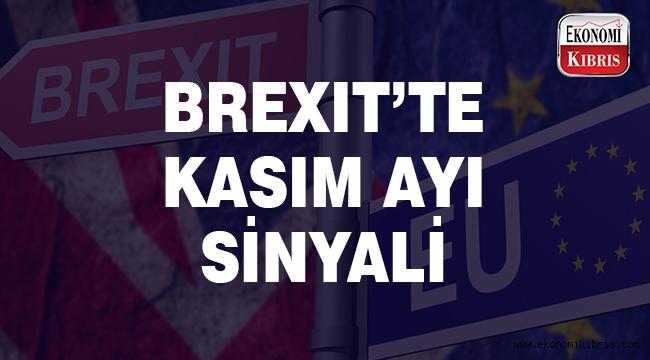 Brexit döneminde Kasım ayı işaretlendi..