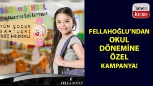 Fellahoğlu Kuyumculuk'tan çocuklara özel kampanya!..
