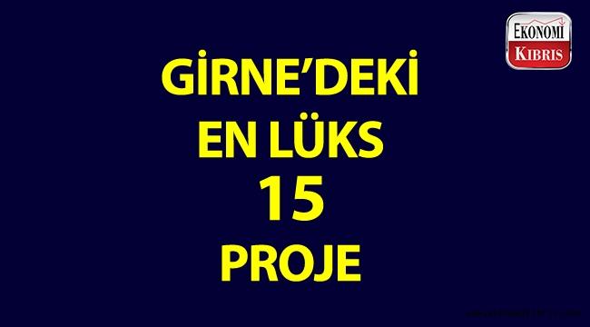 Girne'nin 15 lüks konut projesi!..
