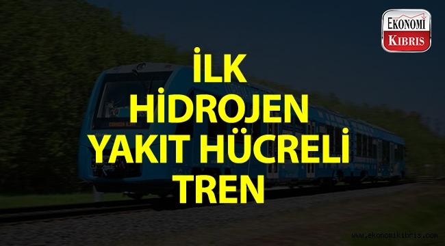 İlk hidrojen yakıt hücreli tren!..