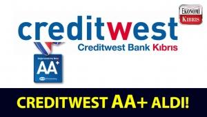 JCR, Creditwest Bankın yüksek seviyedeki yatırım notunu AA+ teyit etti!..