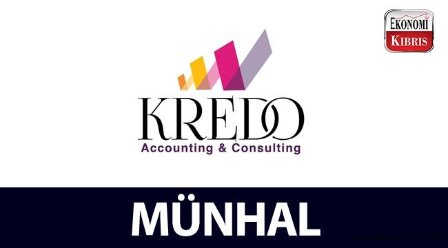 Kredo Muhasebe ve Danışmalık Şirketi, münhal açtı!..