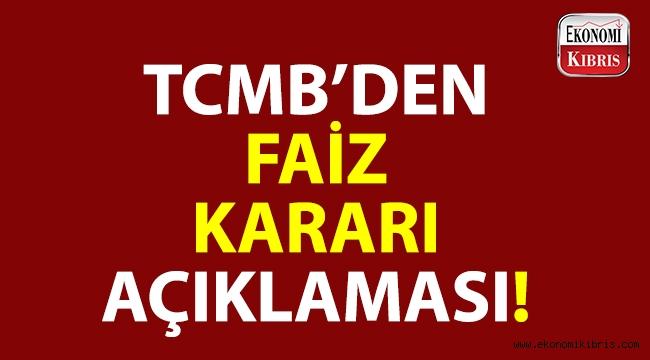Merkez Bankası, yeni faiz kararını açıkladı!..