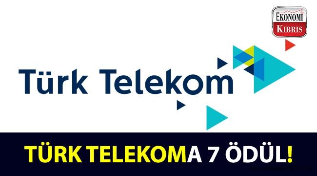 Türk Telekoma 7 ödül!..