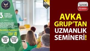 Akdeniz Karpaz Üniversitesi'nin kurmuş olduğu AVKA Grup, 3. Kıbrıs Sertifikalı Uzmanlık Semineri gerçekleştiriliyor!..