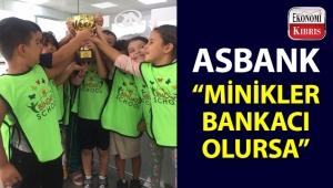 Asbank, bankacılık ile ilgili minik bankacılara bilgiler verdi!..