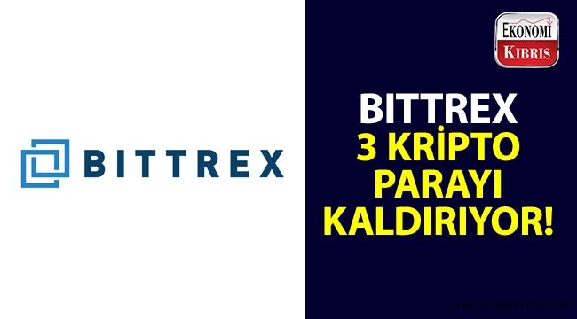 Bittrex Borsası, hangi kripto paraları borsasından kaldırıyor?..