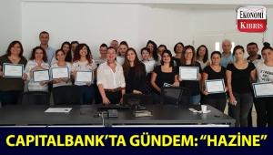 Capitalbank, çalışanları için 'Hazine ve Dış Bankacılık' konularında yapılacak eğitimlerin ilkini gerçekleştirdi!..
