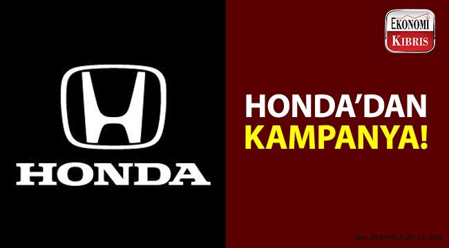 Honda'dan, ekim ayı boyunca kampanya!..