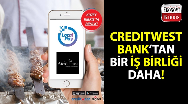 Creditwest Bank'tan yeni iş birliği!..