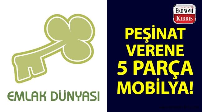 Emlak Dünyası, satışını yaptığı Nicosia Royal City projesi için peşinat verene mobilya hediye ediyor!..