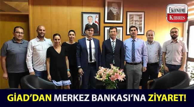 Genç İş Adamları Derneği, KKTC Merkez Bankası'ndan gelen davet üzerine ziyarette bulundu!..