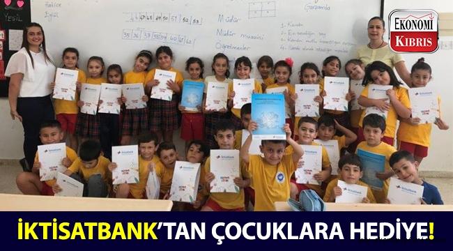 İktisatbank'tan okul öncesi ve anaokulu öğrencilerine yeni ders yılı hediyesi!..