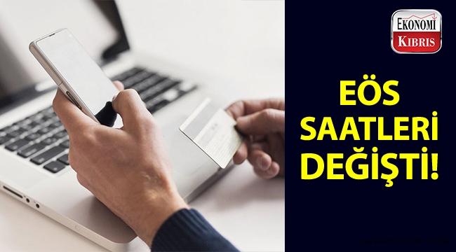İnternet Bankacılığı - EÖS çalışma saatleri değişti!..