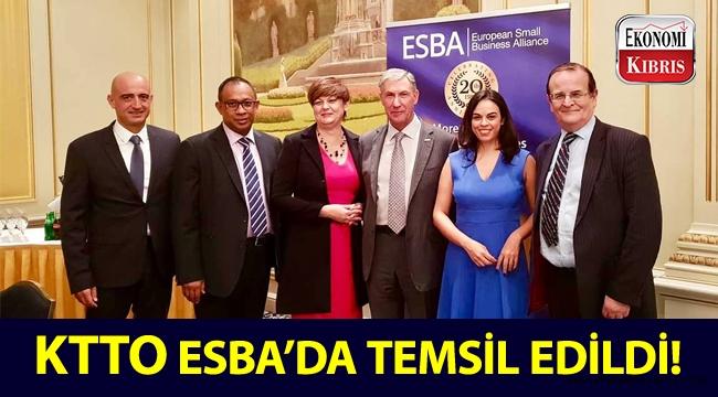Kıbrıs Türk Ticaret Odası, Avrupa Küçük İşletmeler İttifakı'nın (ESBA) düzenlediği etkinlik ve toplantıya katıldı!..