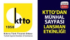 Kıbrıs Türk Ticaret Odası, KTTO Münhal Sayfası için lansman etkinliği düzenliyor!..