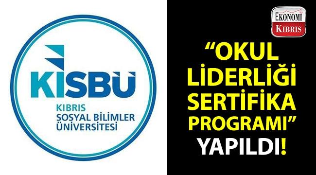 """KISBÜ PARGEM tarafından gerçekleştirilen """"Okul Liderliği Sertifika Programı"""" sona erdi!.."""