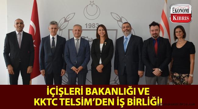 KKTC İçişleri Bakanlığı ile Telsim Vodafone arasında bir iş birliği protokolü imzalandı!..