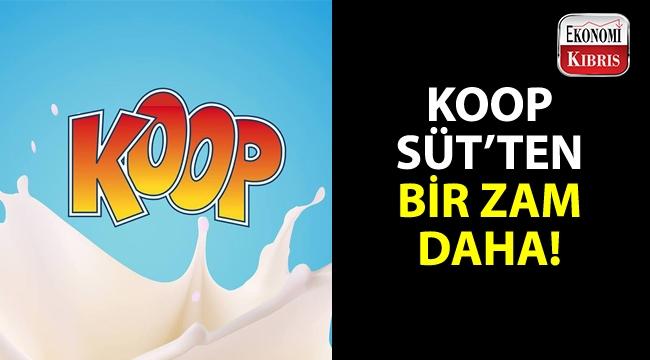 Koop Süt'ten, ekim ayında bir zam daha geldi!