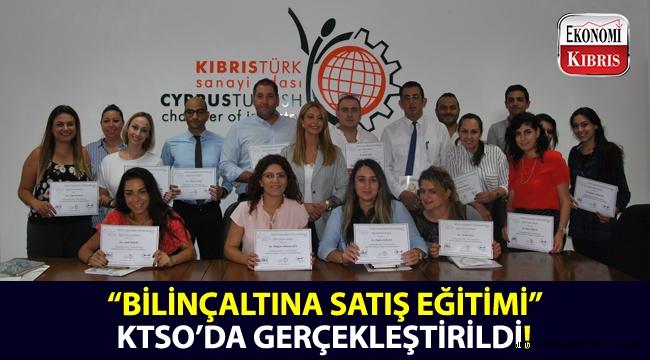"""KTSO Yaşam Boyu Eğitim Merkezi tarafından düzenlenen """"Bilinçaltına Satış Eğitimi"""" sonunda sertifikalar dağıtıldı!.."""