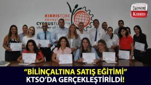 KTSO Yaşam Boyu Eğitim Merkezi tarafından düzenlenen 'Bilinçaltına Satış Eğitimi' sonunda sertifikalar dağıtıldı!..