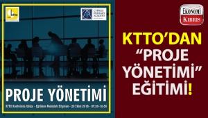 KTTO'nun iş geliştirme birimi tarafından 'Proje Yönetimi' eğitimi gerçekleştiriliyor!..