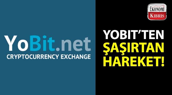 Rusya'nın en büyük kripto para borsalarındanolan YoBit Borsası'ndan şaşırtıcı hareket!..