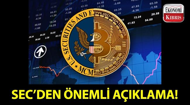 SEC'den bitcoin ETF'leri ile ilgili bildiri!..