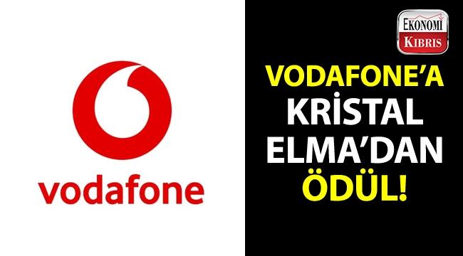 Vodafone, reklam dünyasının en prestijli ödüllerinden Kristal Elma Festivali'nden ödül aldı!..