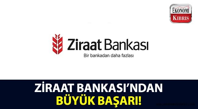 Ziraat Bankası'ndan, 3 yıl üst üste gelen büyük başarı!..