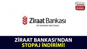 Ziraat Bankası'ndan, Vadeli TL mevduat hesaplarınıza stopaj indirimi!..