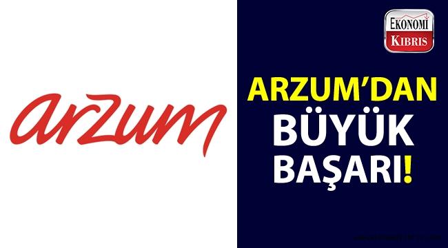 Arzum hangi ödül dalında finale kalmayı başaran tek Türk markası oldu?..