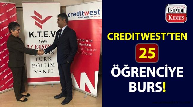 Creditwest Bank, 25 öğrenciye burs imkânı sağlıyor!..