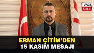 Erman Çitim KKTC Cumhuriyet Bayramı için kutlama mesajı yayınladı!