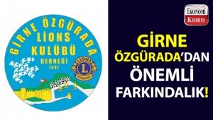 Girne Özgürada Lions Kulubü'nden etkinlik!..