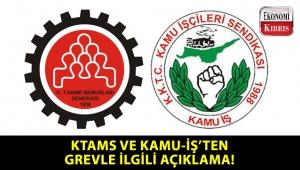 KTAMS ve KAMU-İŞ, istekler karşılanmazsa grev ve eylemlerin düzeyinin artacağını açıkladı!..