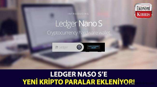 Ledger'a, 6 kripto para daha ekleniyor!..