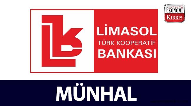 Limasol Türk Kooperatif Bankası, münhal açtı!..