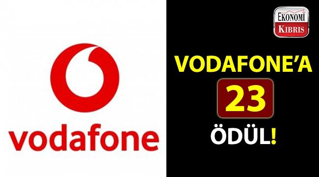 Vodafone'a, pazarlama iletişiminin en prestijli ödüllerinden 23 ödül!..