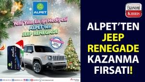 Alpet Kıbrıs'tan Jeep Renegade sahibi olmak için kaçırılmayacak fırsat!..