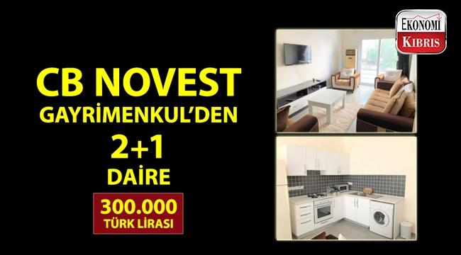 Coldwell Banker Novest Gayrimenkul'den Türk lirasıyla satılık apartman dairesi!..