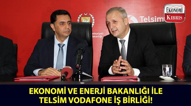 Ekonomi ve Enerji Bakanlığı ile Telsim Vodafone'dan